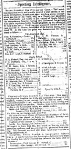 Stoneleigh CC v Rugby School 1849
