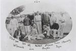 Edward Chandos Leigh with I Zingari at Althorp 1868 © MCC