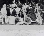 Edward Chandos Leigh and broken hand with I Zingari in Dublin 1862 © MCC