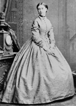 Edward Chandos Leigh's wife Katherine Rigby 1871 © MCC
